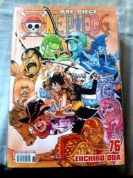 Mangá One Piece (Volumes 76, 77, 78, 79 e 80)