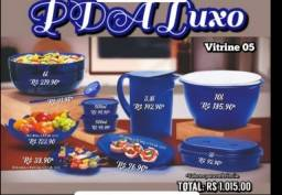 Kit luxo Tupperware 10 peças