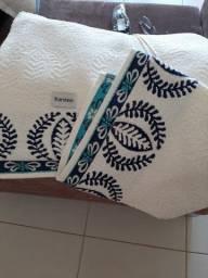 jogo com 2 toalhas karsten-  novo