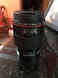 Lente Canon Macro EF 100mm f/2.8L IS USM