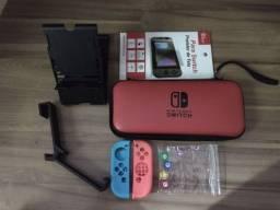 Acessórios para Nintendo Switch (valores na descrição do anúncio)