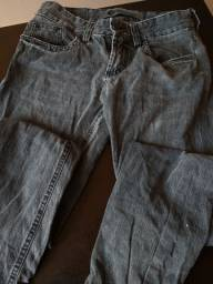 Calça jeans caridon usada