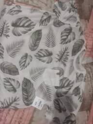 Camiseta Masculina clara tamanho GG