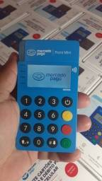 Maquininhas de cartão Point Mini NFC Mercado Pago Sem Mensalidade