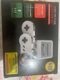 Mini super Nintendo 620 jogos