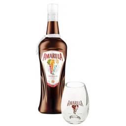 Licor Amarula com copo, Original!