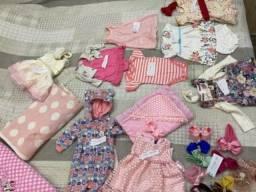Roupinhas infantis de 0 a 6 meses em ótimo estado