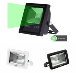 Refletor Led 10w Verde Projetor de Led SMD Bivolt