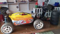 Automodelo Elétrico Buggy XTM Racing 1/8 Rtr 6s Brushless 90kmh