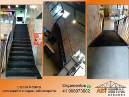 Escada metálica & Serralheria em Geral