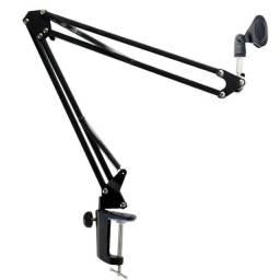 Pedestal Suporte Mesa Articulado Para Microfone Estúdio Nb35