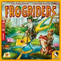 Frogriders - Jogo de Tabuleiro - Jogo família - Jogo infantil - Criança