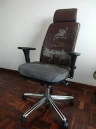 Cadeira para escritório giratória premium Cavaletti