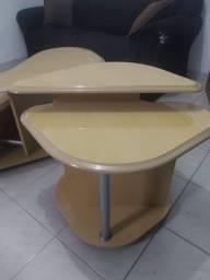 Conjunto Mesas de Centro Marfim