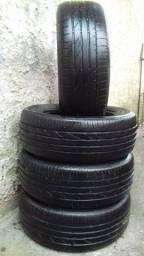 4 pneus 205/55r16 por R$250