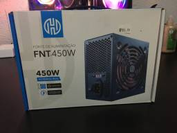 Fonte Hoopson 450W REAL