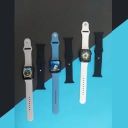 Smartwatch Hw16 Atende e Faz Ligações + Pulseira Extra