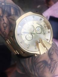 Relógio Masculino DIESEELL 10bar Dourado