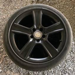 Jogo de rodas 17 com pneus (Preço pra torrar)