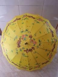 Guarda-chuva colorido