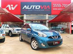 Nissan March 1.0 SV - 2017 - Completo