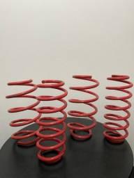 Molas esportivas red coil fiat stilo