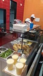 Bancada fria para sanduíche  natural