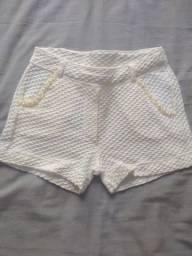 Shorts de menina