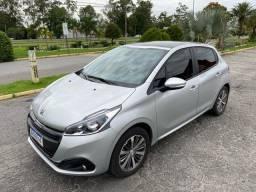 Peugeot 208 griffe, automático 6 marchas, ano 2020, 22 mil km, IPVA 2021 quitado