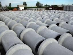 Tubos ou manilhas de cimento para água pluvial, dreno, esgoto, cisterna, poço, fossa