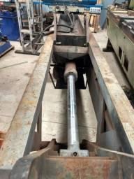 Maquina de desmontar pistão hidráulico