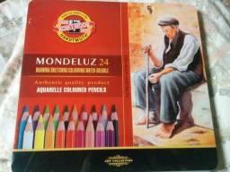 Lápis Mondeluz 24 cores