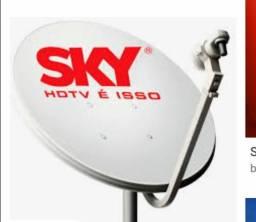 Sky pré pago com a Globo digital em Almenara MG e região