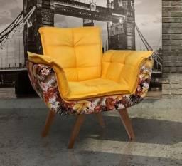 Conforto e Design - Poltrona Decorativa - Entrega em até 24h - Compre