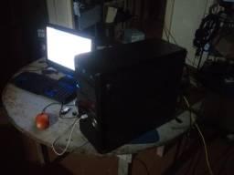 Intel 2 quad 2.40ghz 4gigas (ddr3) 500 de hd placa de video n210 1gb (ji-parana)