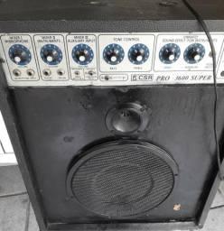 Caixa de som eletrificada