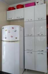 Armário cozinha paneleiro 8 portas+armário geladei