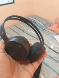 Fone de ouvido sem fio sony