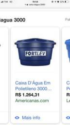 Caixa d?água 3.000l em CARUARU