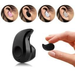 Mini Fone Ouvido Bluetooth 4.0 2 Celular Chamada Musica Mp3 (Novo)
