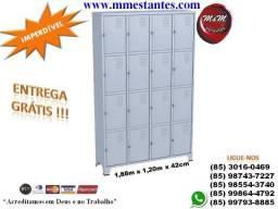 (85) 3016-0469 - Roupeiro 16 Portas para Funcionários
