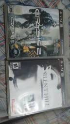 Silent Hill HD e Crysis 2 Ps3