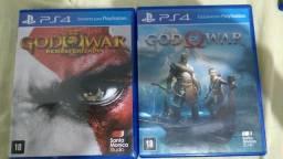 God Of War 3 e 4