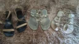 Sandálias de Couro n. 35 TUDO $60