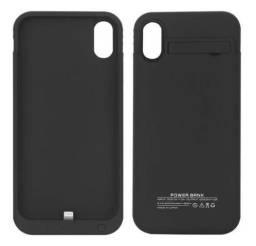 Capa Carregadora Para Iphone X Power Bank Bateria Externa