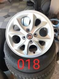 Rodas aro 14 Fiat para Siena / Linea / Palio / Uno / Strada / Marea / entre outros carros