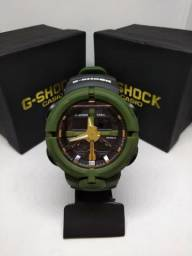 db3f177fe4b G- Shock Ga 500 Verde