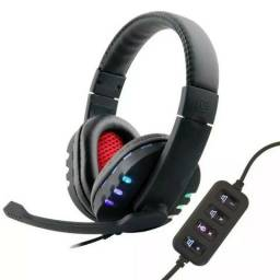 Fone Ouvido Gamer 7.1 Usb Headphone Microfone Ps3 Ps4 Pc Not