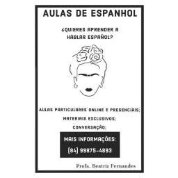 AULAS DE ESPANHOL