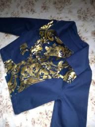 Blazer azul novo